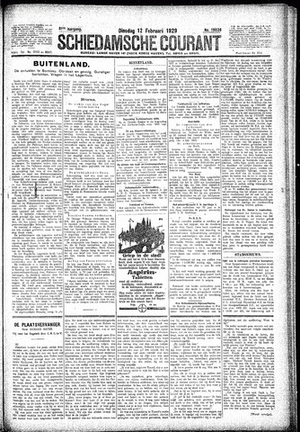 Schiedamsche Courant 1929-02-12