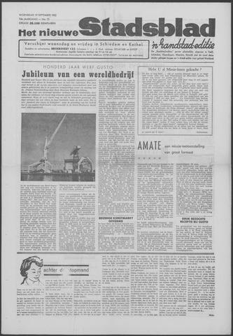 Het Nieuwe Stadsblad 1962-09-19