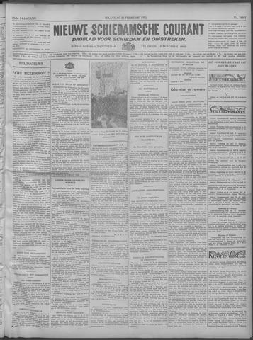 Nieuwe Schiedamsche Courant 1932-02-22