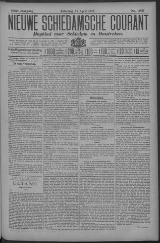 Nieuwe Schiedamsche Courant 1917-04-21