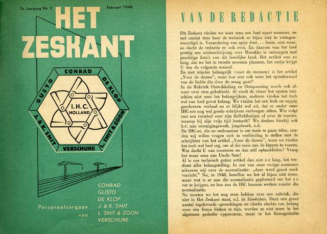 Het Zeskant 1948-02-01