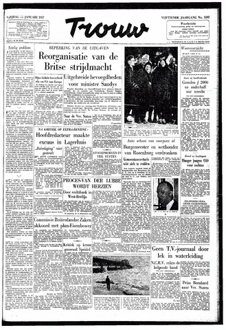 Trouw / De Rotterdammer 1957-01-25