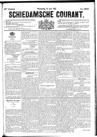 Schiedamsche Courant 1912-06-12