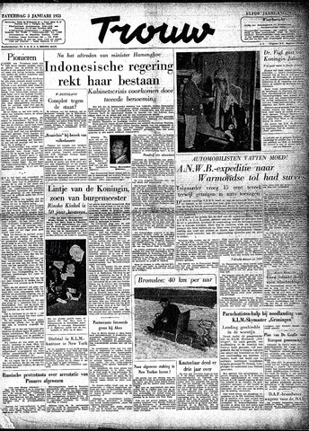 Trouw / De Rotterdammer 1953-01-03