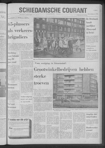 Rotterdamsch Nieuwsblad / Schiedamsche Courant / Rotterdams Dagblad / Waterweg / Algemeen Dagblad 1970-11-11
