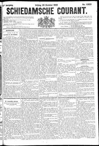 Schiedamsche Courant 1908-10-23