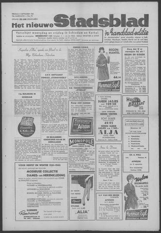 Het Nieuwe Stadsblad 1961-09-08