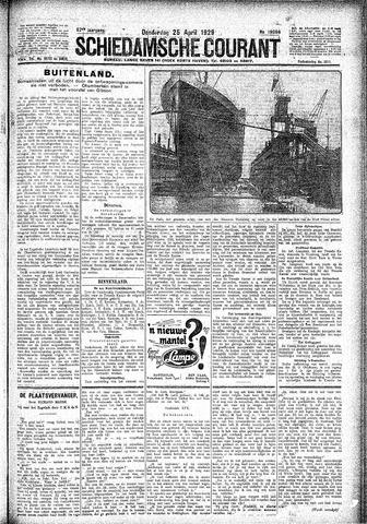 Schiedamsche Courant 1929-04-25