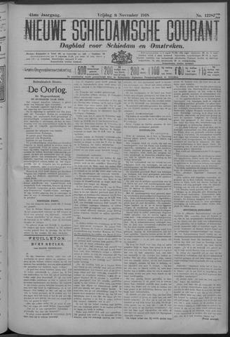 Nieuwe Schiedamsche Courant 1918-11-08