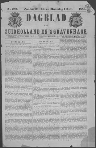 Dagblad van Zuid-Holland 1858-10-31