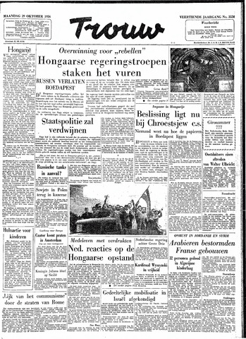 Trouw / De Rotterdammer 1956-10-29