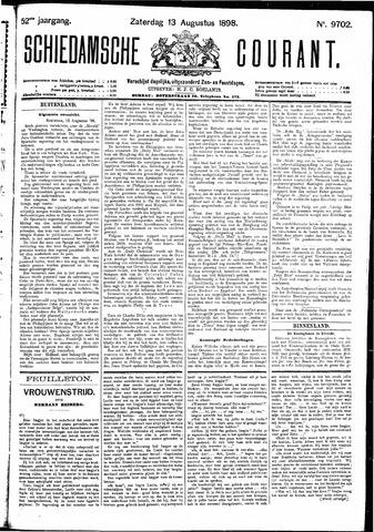 Schiedamsche Courant 1898-08-13