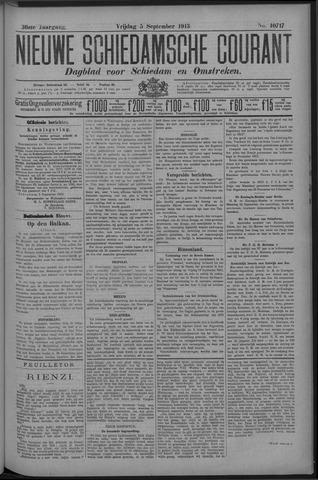 Nieuwe Schiedamsche Courant 1913-09-05