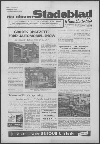Het Nieuwe Stadsblad 1963-10-04