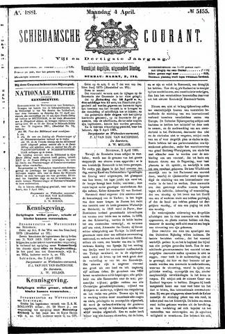Schiedamsche Courant 1881-04-04
