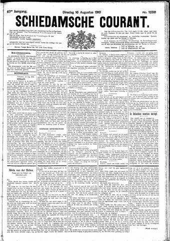 Schiedamsche Courant 1910-08-16