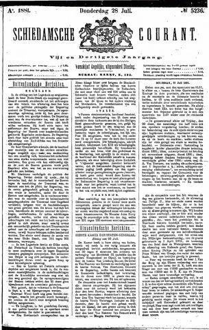 Schiedamsche Courant 1881-07-28