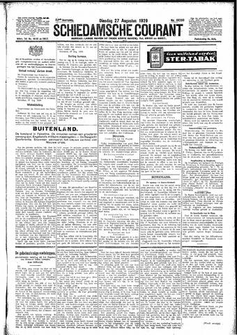 Schiedamsche Courant 1929-08-27