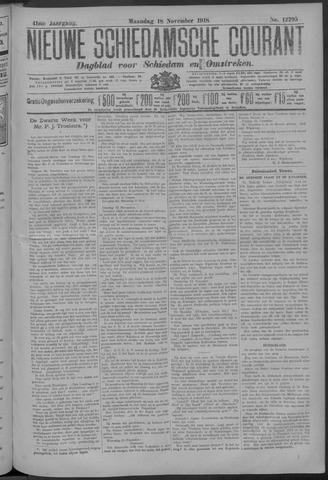 Nieuwe Schiedamsche Courant 1918-11-18