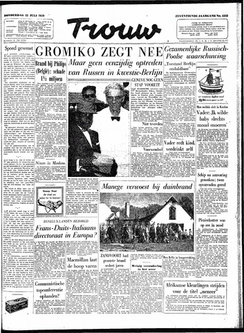 Trouw / De Rotterdammer 1959-07-23