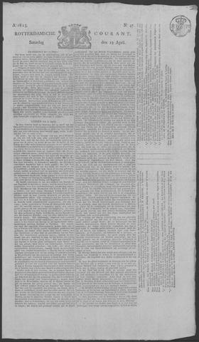 Rotterdamse Courant 1823-04-19