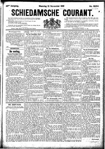 Schiedamsche Courant 1916-11-13