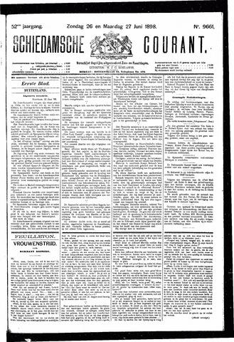 Schiedamsche Courant 1898-06-27