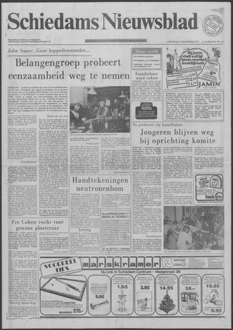 Schiedams Nieuwsblad 1977-12-14