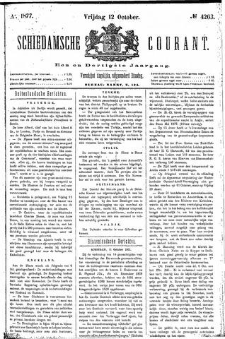Schiedamsche Courant 1877-10-12