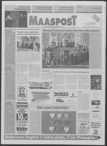 Maaspost / Maasstad / Maasstad Pers 1996-02-14