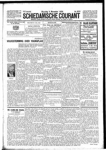 Schiedamsche Courant 1929-11-04