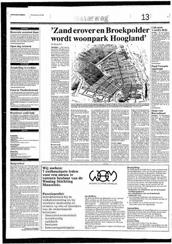 Rotterdamsch Nieuwsblad / Schiedamsche Courant / Rotterdams Dagblad / Waterweg / Algemeen Dagblad 1993-06-24