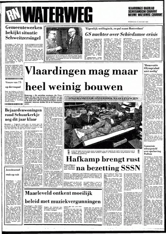 Rotterdamsch Nieuwsblad / Schiedamsche Courant / Rotterdams Dagblad / Waterweg / Algemeen Dagblad 1983-01-12