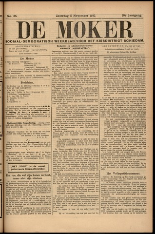 De Moker 1910-11-05