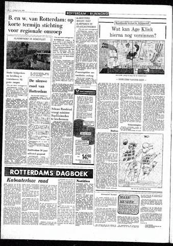 Rotterdamsch Parool / De Schiedammer 1970-06-05
