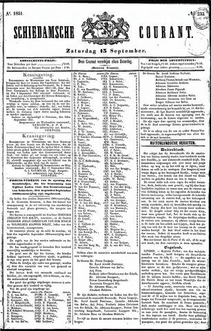 Schiedamsche Courant 1851-09-13