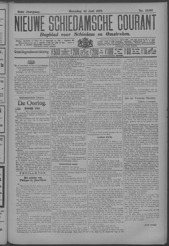 Nieuwe Schiedamsche Courant 1918-06-10