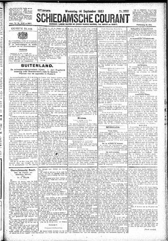 Schiedamsche Courant 1927-09-14