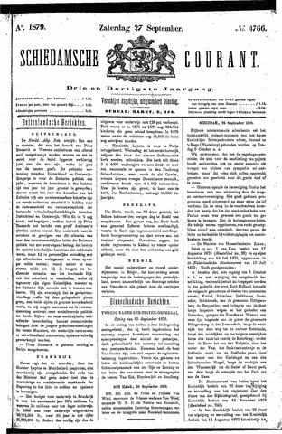 Schiedamsche Courant 1879-09-27