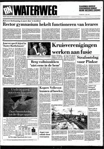 Rotterdamsch Nieuwsblad / Schiedamsche Courant / Rotterdams Dagblad / Waterweg / Algemeen Dagblad 1987-05-13