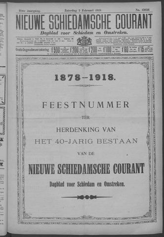 Nieuwe Schiedamsche Courant 1918-02-02