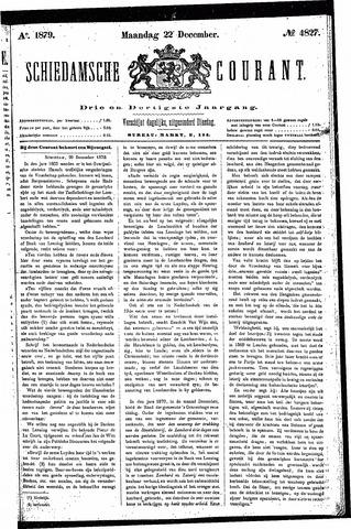 Schiedamsche Courant 1879-12-22
