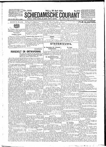 Schiedamsche Courant 1933-04-28