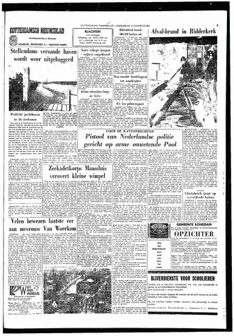 Rotterdamsch Nieuwsblad / Schiedamsche Courant / Rotterdams Dagblad / Waterweg / Algemeen Dagblad 1965-08-12