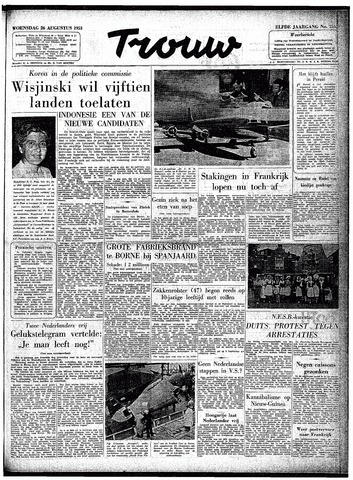 Trouw / De Rotterdammer 1953-08-26