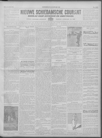 Nieuwe Schiedamsche Courant 1933-01-26