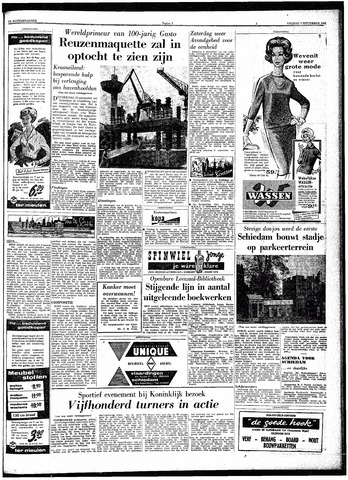 Trouw / De Rotterdammer 1962-09-07