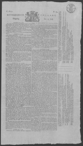 Rotterdamse Courant 1823-07-15