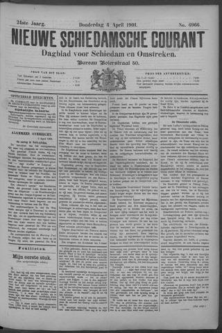 Nieuwe Schiedamsche Courant 1901-04-04