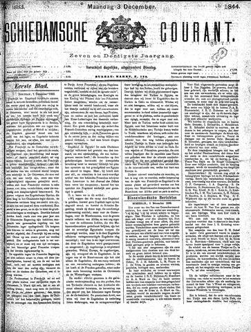 Schiedamsche Courant 1883-12-03